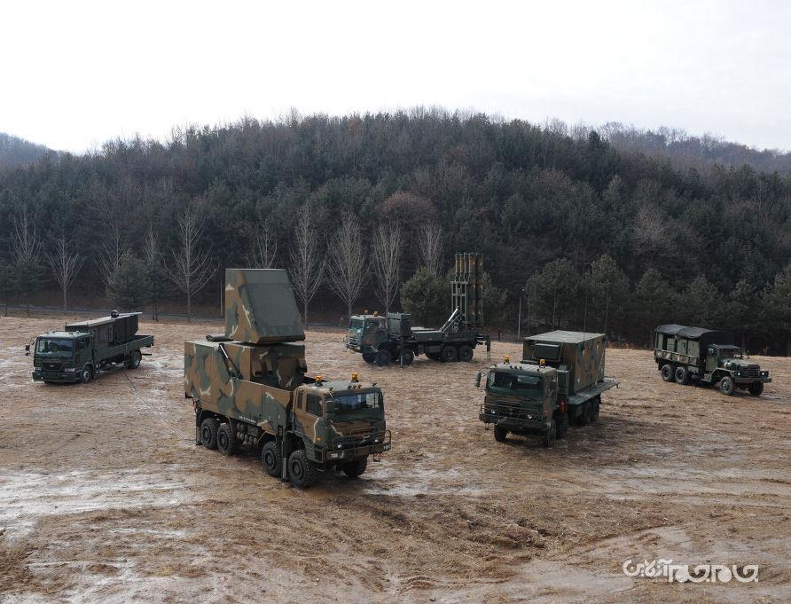ارتش کره جنوبی، سامانه پدافندی جدید را تحویل گرفت+عکس