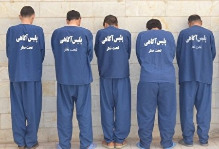 سارقان اماکن خصوصی درتله پلیس بوشهر