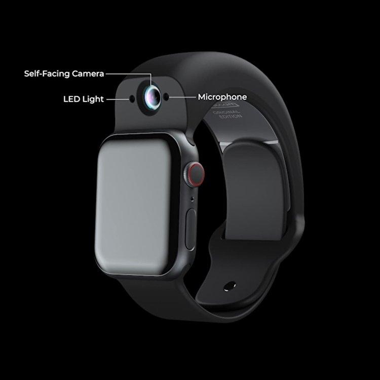 بند Wristcam برای افزودن دوربین دوگانه به اپل واچ معرفی شد