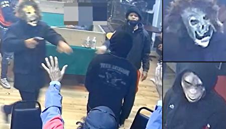 هجوم مردان مسلح نقابدار به یک کلوپ