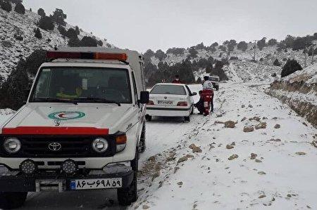 مادر باردار میانه ای از مرگ در روستای فندقلو داغی نجات یافت
